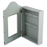 ML-4813 Ключница с узорами, со стеклянной дверцей