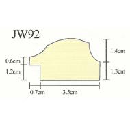 Фоторамка platinum jw92-5 бергамо-бордовый 30x45 /6/12