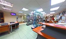 Виртуальный обзор нашего салона в универмаге Московский
