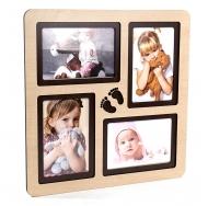 Мультирамка PE-042 Бук на 4 детских фотографии