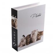 Фотоальбом на 200 фото PP-46200S Кошки-2