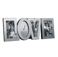 """D320 (3 фоторамки с часами """"LOVE"""")"""