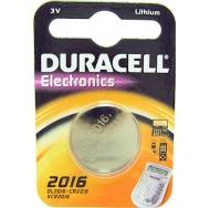 Батарея  DURACELL CR2016 1BL /10/100