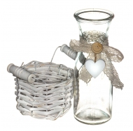 Винтажная бутылочка в прованском стиле