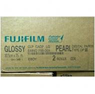 Фотобумага FUJI 30,5x75 Pearl, Glossy (Металлик)