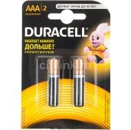 Батарея DURACELL BASIC LR03 2BL /20/60