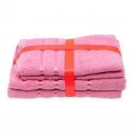 Набор из 4 полотенец Розовый