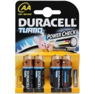 Батарея  DURACELL TURBO LR 6 4BL /80/240