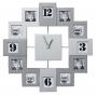 Фоторамки с часами превосходное оформление для гостиной, кабинета, коридора или кухни