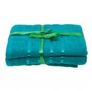 Набор из 4 полотенец Зелёный
