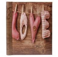 Магнитный фотоальбом 20 листов Любовь 2М2713