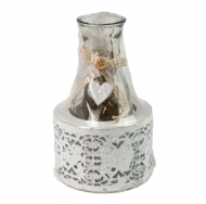 Прованская бутылка в корзинке