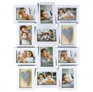 BIN-1122638 Белый (White), 12 фоторамок /6