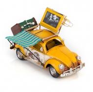 Фольксваген Жук - Volkswagen Käfer - декоративная винтаж-модель с фоторамкой 1404E-4335 Модель Ретро Автомобиль с фоторамкой и копилкой /6