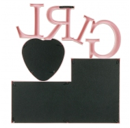 Пластиковый коллаж-мультирамка BIN-1122915-Pink