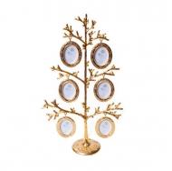 6 фоторамок на дереве PF10015BG (H 31.5см.) /12