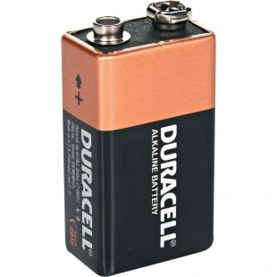 Батарея  DURACELL 6LR61 1BL (КРОНА) /10/30