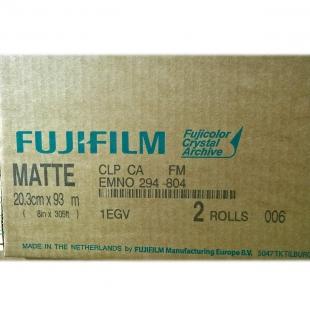 Фотобумага FUJI 20,3x93 M Matte (матовая) NEW