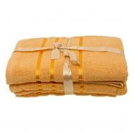 Набор из 4 полотенец Оранжевый
