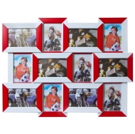 Фотоколлаж мультирамка  121-18 12 фоторамок арт. 2703-046 /12