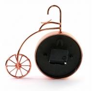 ML-5379 Copper Часы настольные Велосипед медный большой