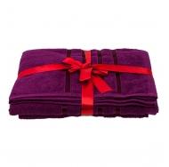 Набор из 2 полотенец Фиолетовый