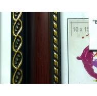 Фоторамка platinum 8131 верчелли-бордовый 10x15 /12/48