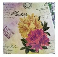 Фотоальбом на 200 фото С-46200L (бумажные стр. с МЕМО) Цветочная коллекция-6