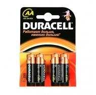 Батарея  DURACELL BASIC LR 6 4BL /80/240
