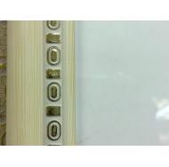 """Фоторамка platinum jw97-5 """"пинето""""-белый 15x21 /18/36"""