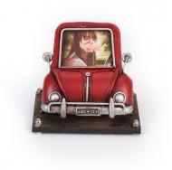 1404B-1287 Фоторамка с подставкой для ручек Автомобиль красный /12