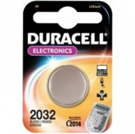 Батарея  DURACELL CR2032 1BL /10/100