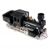 1510A-8376 Модель Ретро Паровоз чёрный