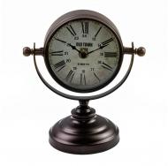 ML-5161 Copper Часы настольные на подставке, тёмная медь