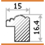 Фоторамка platinum 8020-5 арона-синий 21x30 /12/24