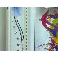 Фоторамка platinum jw17-210-1(211) турин-белый с синими цветами 15x21 /18/36