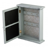 ML-4785 Ключница со стеклянной дверцей и 2 фоторамками 10х15 см.