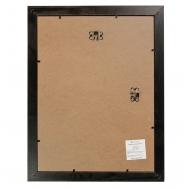 W3138-Бордовый 30х40, Деревянная фоторамка 30х40 с паспарту 20х30 см