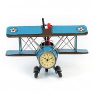 1404B-1307 Подставка для ручек Часы-Аэроплан /12