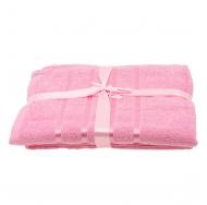 Набор из 2 полотенец Розовый