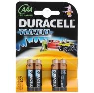 Батарея  DURACELL TURBO LR03 4BL /40/120