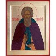 Икона Преподобный Сергий Радонежский 30х25