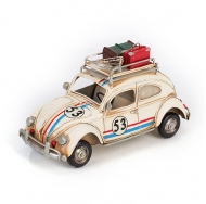 Фольксваген Жук - Volkswagen Käfer - декоративная винтаж-модель с фоторамкой 1404E-4334 Модель Ретро Автомобиль с фоторамкой и копилкой /6
