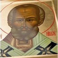 Икона Святитель Николай 30х25