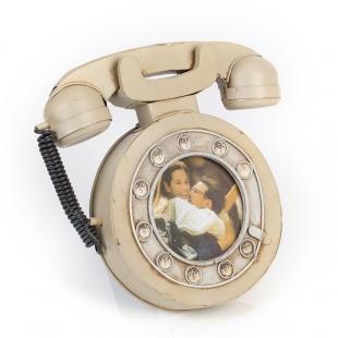 1404B-1347 Фоторамка Телефон дисковый /12