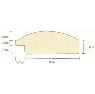 Фоторамка platinum jw84-5 флоренция-золотой 40x60 /6